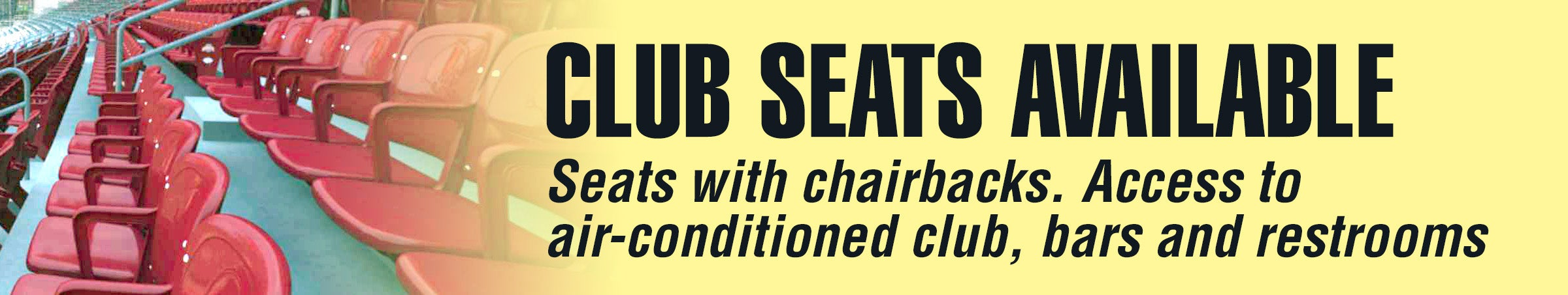 Club Seats to learn more call us 614-688-3939