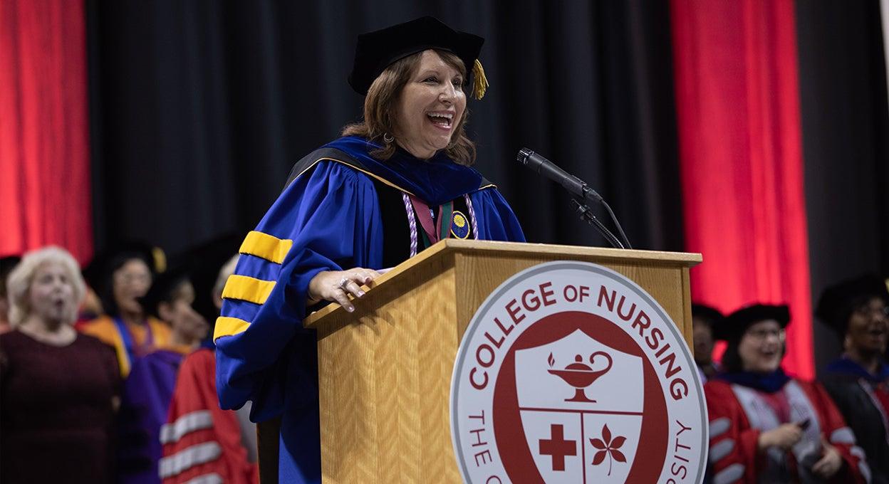 Osu Spring Graduation 2020.College Of Nursing Convocation Schottenstein Center