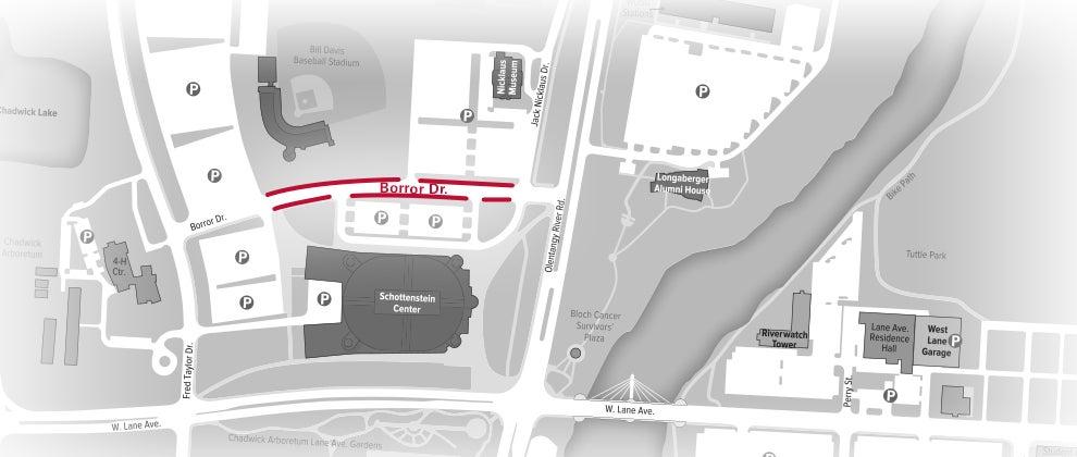 Directions & Parking | Schottenstein Center