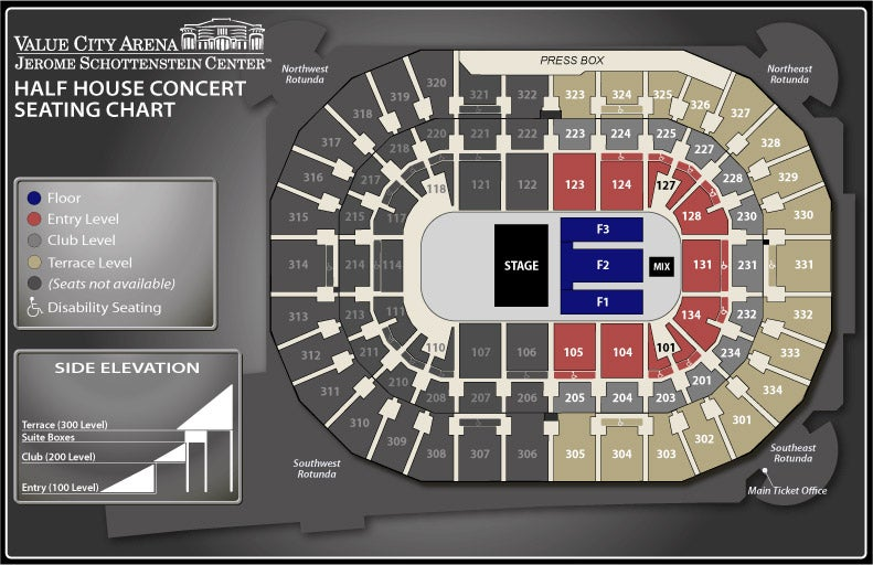 Seating Charts | Schottenstein Center